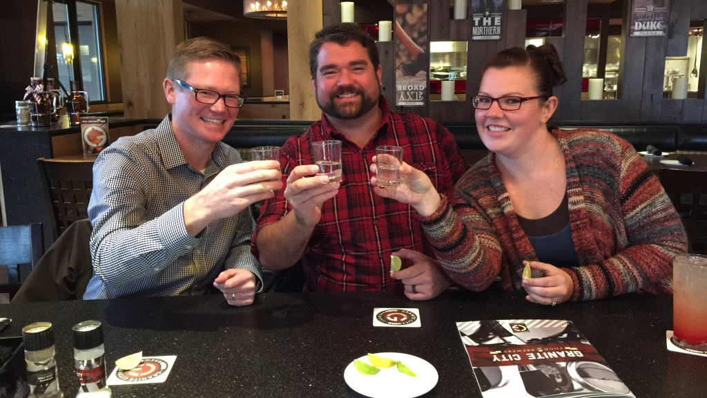 tequilla shots at granite city