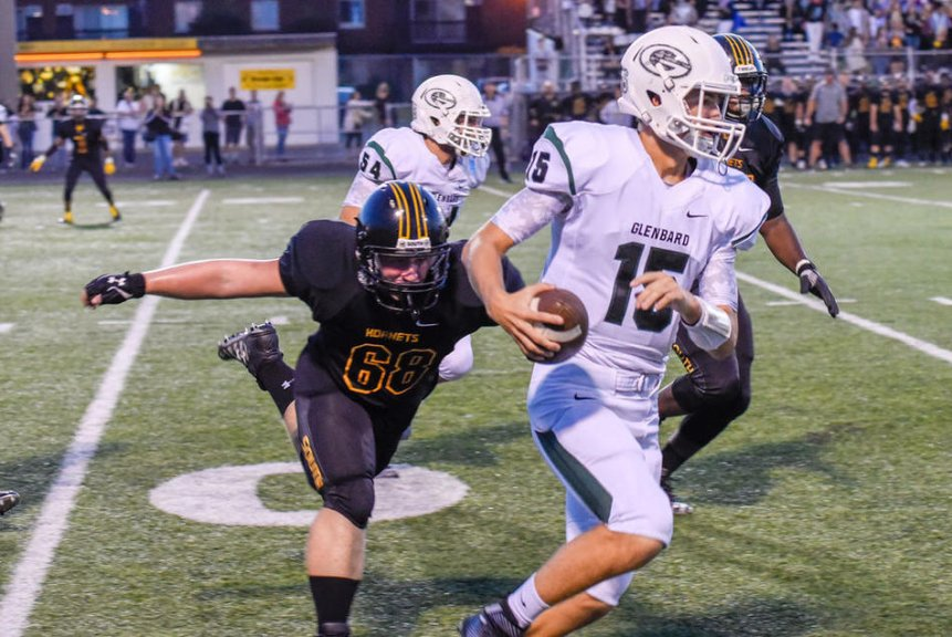 cole brady glenbard west qb