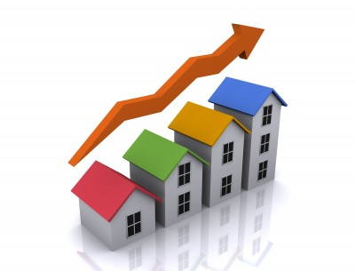 home values increase