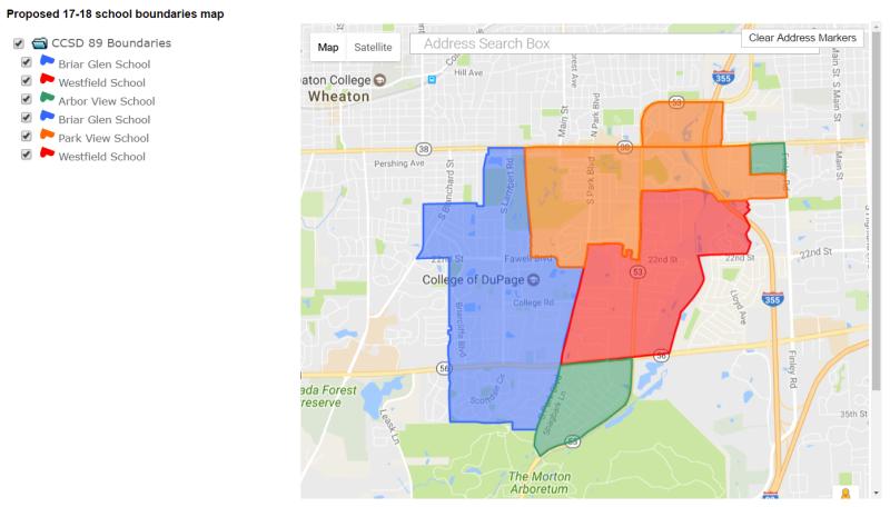 proposed district 89 boundaries glen ellyn