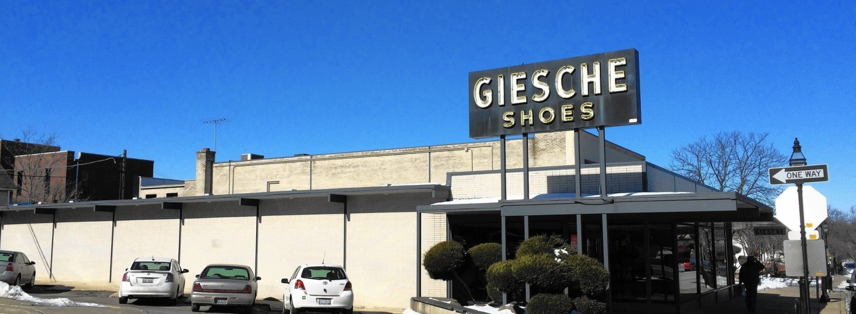 Giesche Shoes store Glen ELlyn