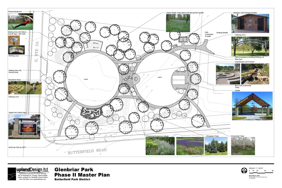 Glenbriar Park Phase 2 Glen Ellyn Butterfield Park District